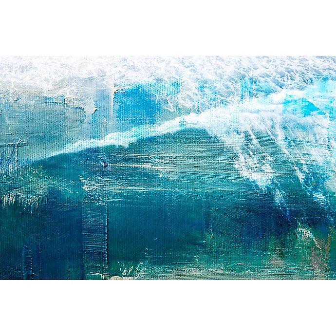 Alternate image 1 for Parvez Taj White Splashing Surf 45-Inch x 30-Inch  Wall Art