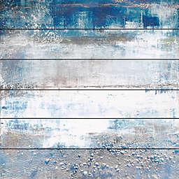 Parvez Taj White Splash 40-Inch x 40-Inch Wall Art