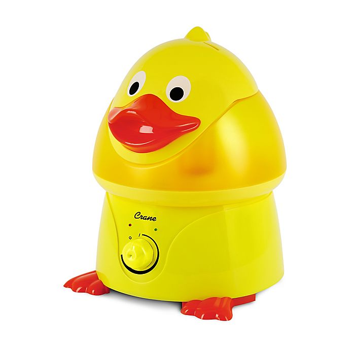 Alternate image 1 for Crane Ultrasonic Cool Mist Duck Humidifier and Accessories