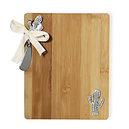 Boston International 2-Piece Wood Cutting Board and Spreader Set