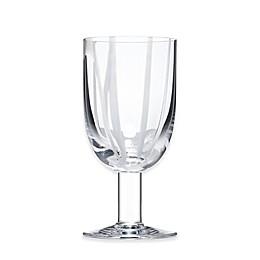 Kosta Boda Contrast Wine Glass in White