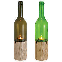 Oenophilia Siena Bottle Tea Light Holder