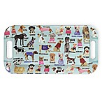 Boston International Hot Dog Melamine Serving Tray