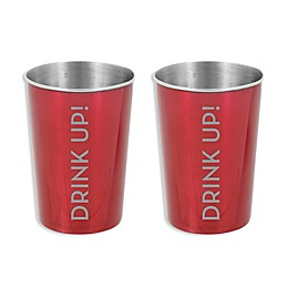 Oenophilia Excursion Wine Cups in Red (Set of 2)