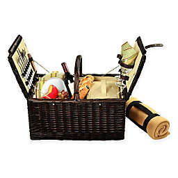 Picnic at Ascot Surrey 2-Person Picnic Basket with Blanket