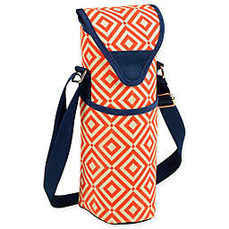 Picnic at Ascot Printed Wine/Water Bottle Tote