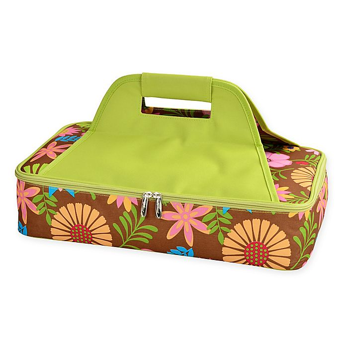 Alternate image 1 for Picnic at Ascot Insulated Casserole Carrier in Floral