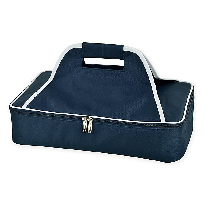 Alternate image 1 for Picnic at Ascot Insulated Casserole Carrier in Navy