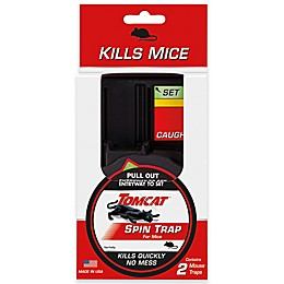 Tomcat® 2-Pack Spin Traps for Mice
