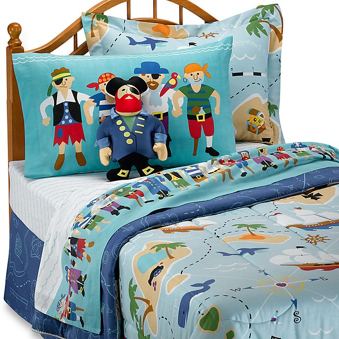 Olive Kids™ Pirates Twin Sheet Set | Bed Bath & Beyond