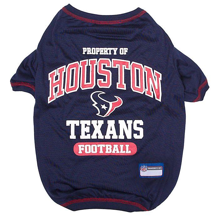 Alternate image 1 for NFL Houston Texans X-Large Pet T-Shirt