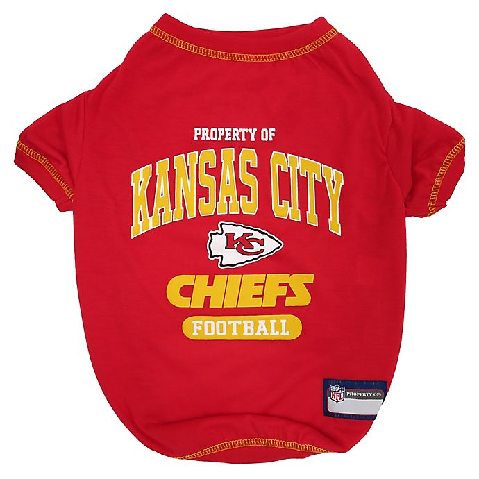 Alternate image 1 for NFL Kansas City Chiefs Pet T-Shirt