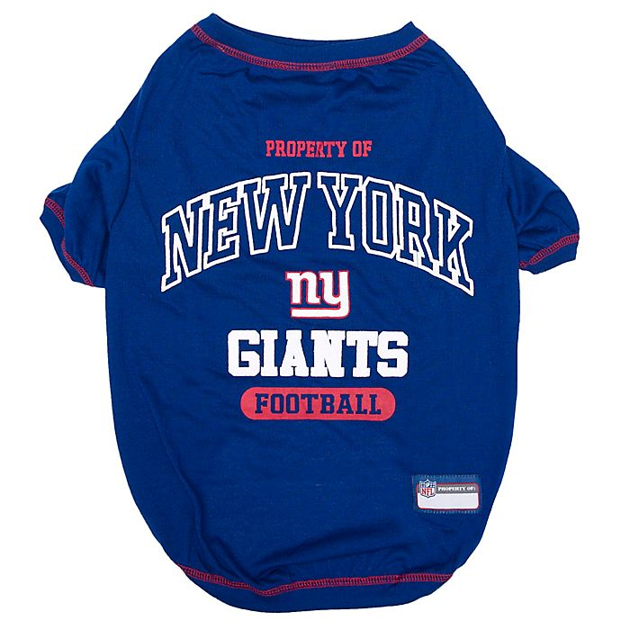 Alternate image 1 for NFL New York Giants X-Large Pet T-Shirt