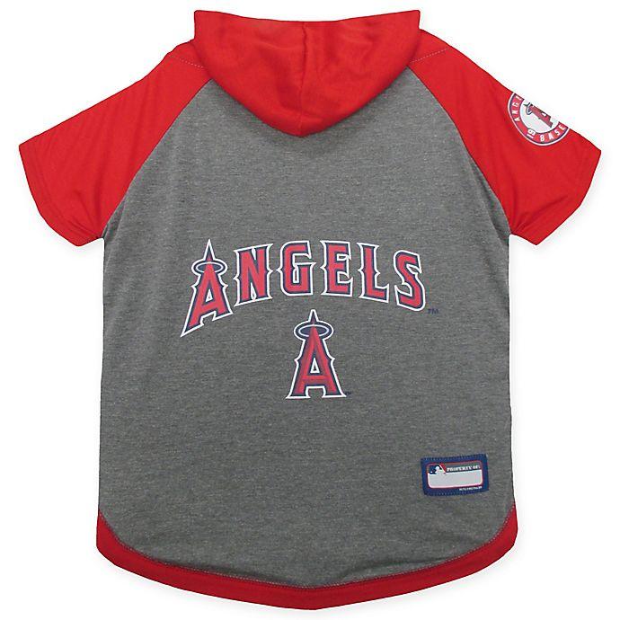 Alternate image 1 for MLB Los Angeles Angels Large Pet Hoodie T-Shirt