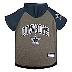 NFL Dallas Cowboys Large Pet Hoodie T-Shirt