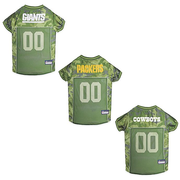 reputable site 0ca40 ca2da NFL Camo Pet Jersey | Bed Bath & Beyond