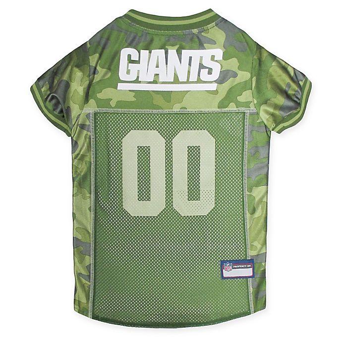 official photos 16332 e7be0 NFL New York Giants Camo Pet Jersey | Bed Bath & Beyond