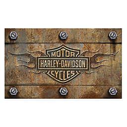 18-Inch x 30-Inch Harley Davidson Embossed Doormat