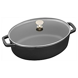 Staub 4.25 qt. Shallow Oval French Cocotte