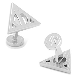 Harry Potter™ Silver-Plated Deathly Hallows Cufflinks