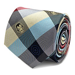 Marvel® Iron Man Silk Plaid Tie