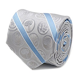 Marvel® Avengers Icon Silk Striped Tie in Grey