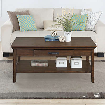 Craft + Main Rockwell Living Room Furniture Collection in Walnut