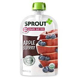 Sprout® 4 oz. Stage 2 Organic Baby Food in Apple and Blueberry