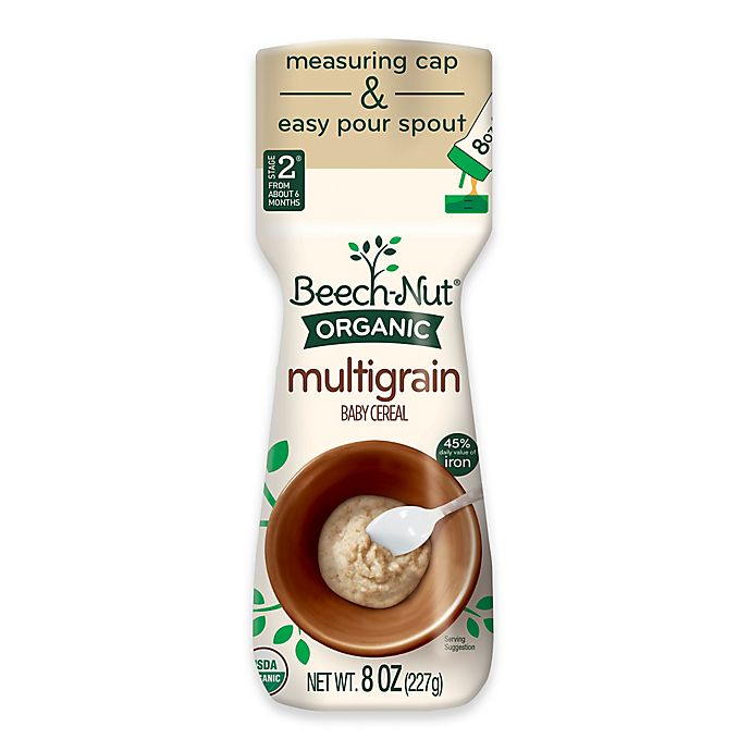 Alternate image 1 for Beech-Nut® 8 oz. Stage 1 Organic Multigrain Cereal