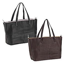 Piel® Leather Classic Large Open Multi-Purpose Tote