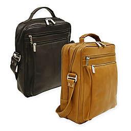 Piel® Leather Classic 10.5-Inch Laptop Case Shoulder Bag