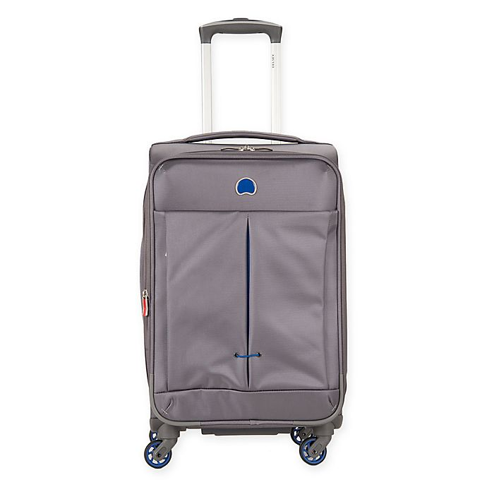 Alternate image 1 for DELSEY PARIS Air Adventure 21-Inch Spinner Carry On Luggage in Grey