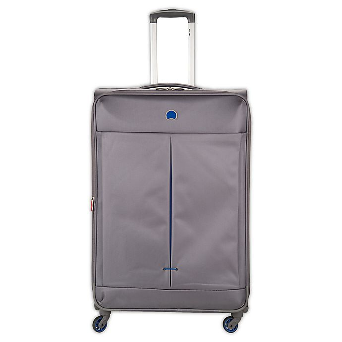 Alternate image 1 for DELSEY PARIS Air Adventure 29-Inch Spinner Checked Luggage in Grey
