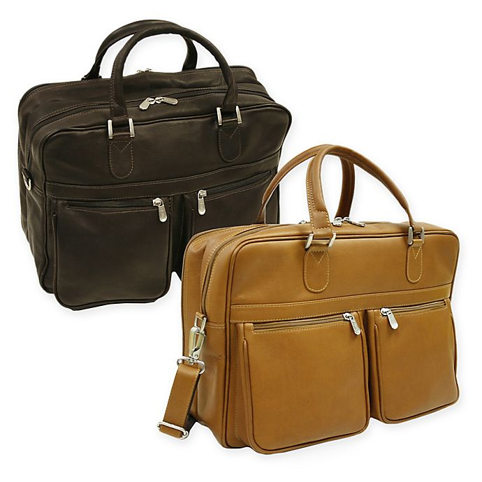 Alternate image 1 for Piel® Leather Classic Checkpoint-Friendly Briefcase/Overnighter