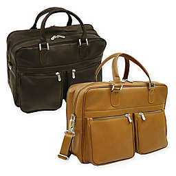 Piel® Leather Classic Checkpoint-Friendly Briefcase/Overnighter