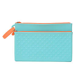 chewbeads® CB Go Silicone Wipes Clutch in Turquoise