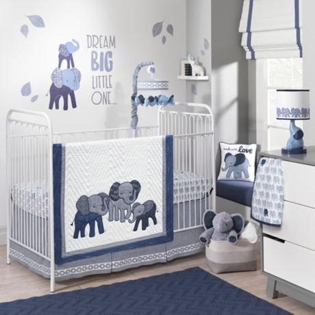 Lambs Amp Ivy 174 Elephant Crib Bedding Collection Buybuy Baby
