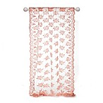 Glenna Jean Remember My Love 54-Inch Embroidered Sheer Window Panel