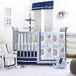 The Peanutshell™ Little Peanut 4-Piece Crib Bedding Set in Navy