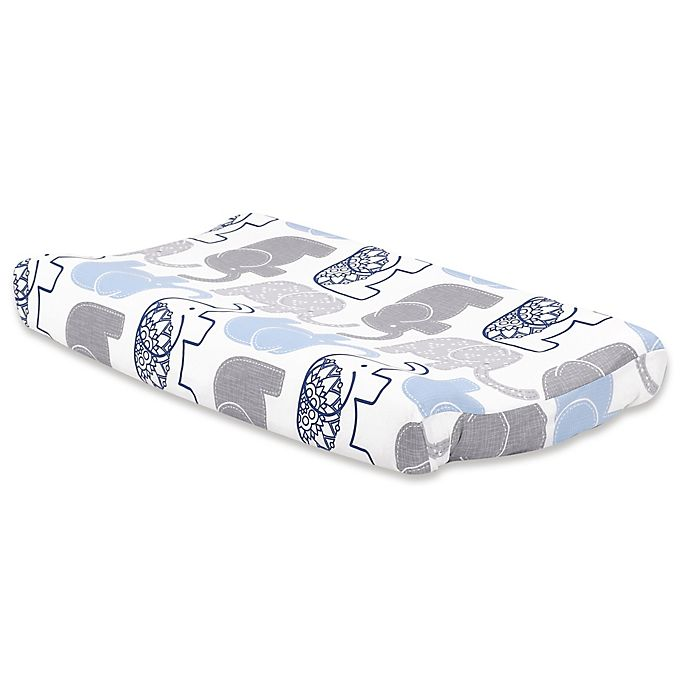 Alternate image 1 for The Peanutshell™ Little Peanut Changing Pad Cover in Navy