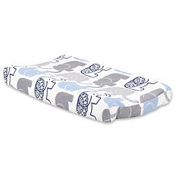 The Peanutshell™ Little Peanut Changing Pad Cover in Navy