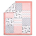 The Peanut Shell® Uptown Girl Quilt in Coral