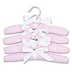Trend Lab® 4-Pack Children's Hangers in Pink