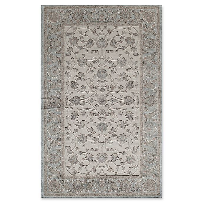 Alternate image 1 for Rugs America Riviera Traditional Trellis 8-Foot x 10-Foot Area Rug in Blue