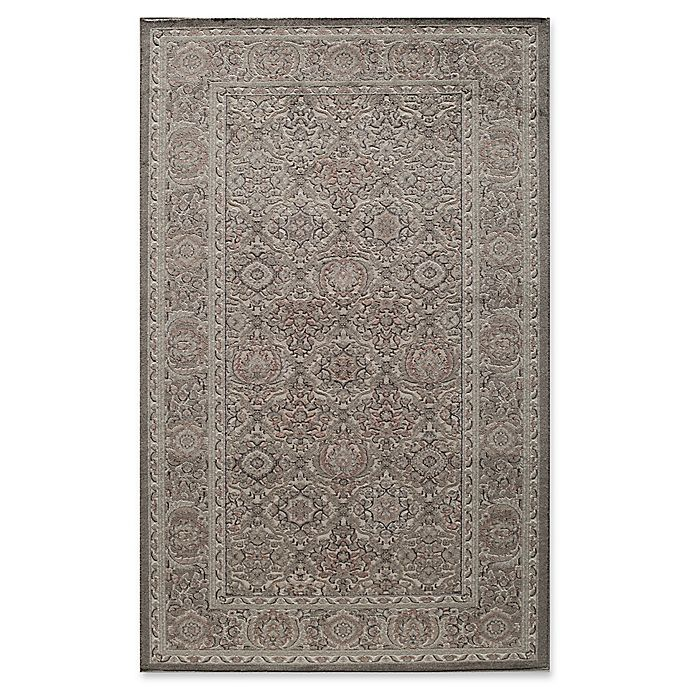 Alternate image 1 for Rugs America Riviera Detailed Traditional 5-Foot x 8-Foot Area Rug in Light Green