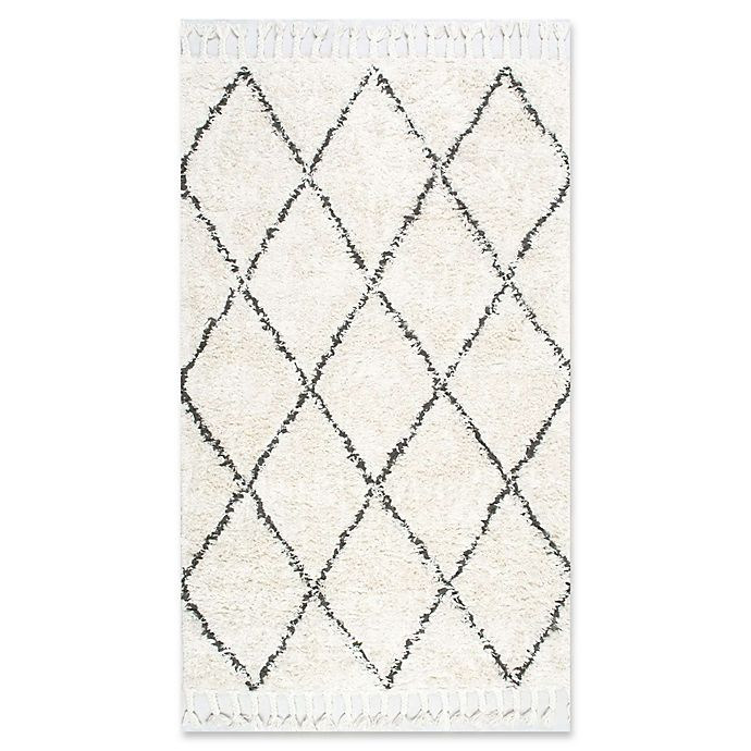 Alternate image 1 for nuLOOM Fez Shag 4' x 6' Area Rug in Natural