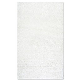 nuLOOM Easy Shag Rug in White