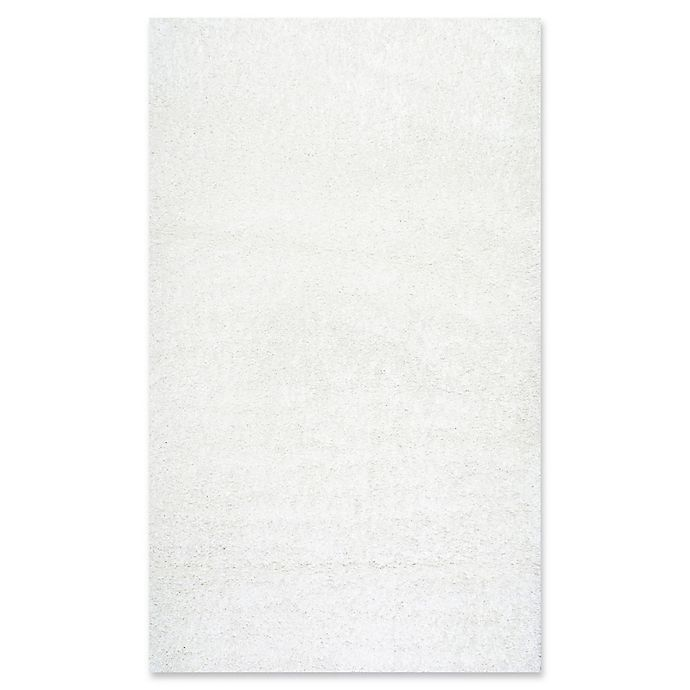 Alternate image 1 for nuLOOM Easy Shag Rug in White