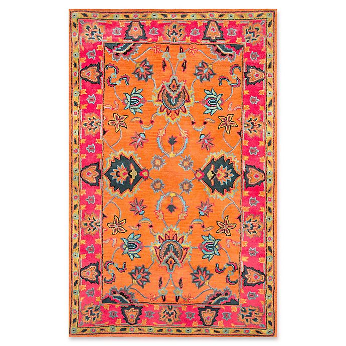 Alternate image 1 for nuLOOM Remade Montesque 7-Foot 6-Inch x 9-Foot 6-Inch Area Rug in Orange