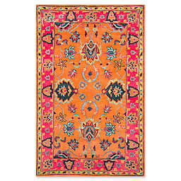 nuLOOM Remade Montesque 8-Foot 6-Inch x 11-Foot 6-Inch Area Rug in Orange